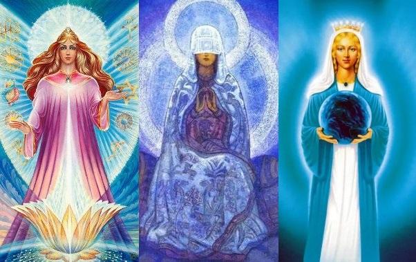 Различные изображение Архетипа Великой Матери