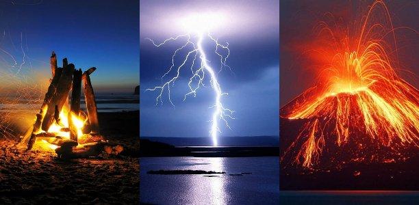 символы стихии огня