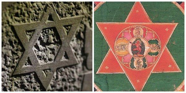 два треугольника как символ