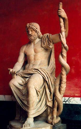Асклепий - греческий бог медицины