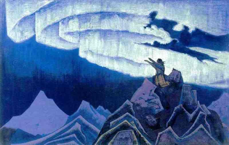 Эзотерические сюжеты в картинах Николая Рериха